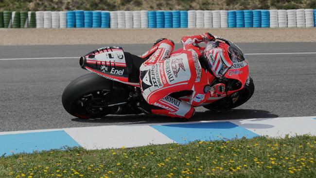 Il maltempo rallenta il test di Hayden con la GP12