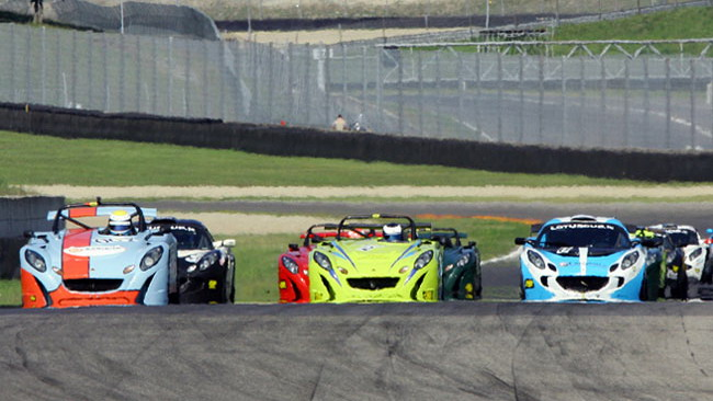 Parte da Vallelunga la Lotus Cup Italia 2011