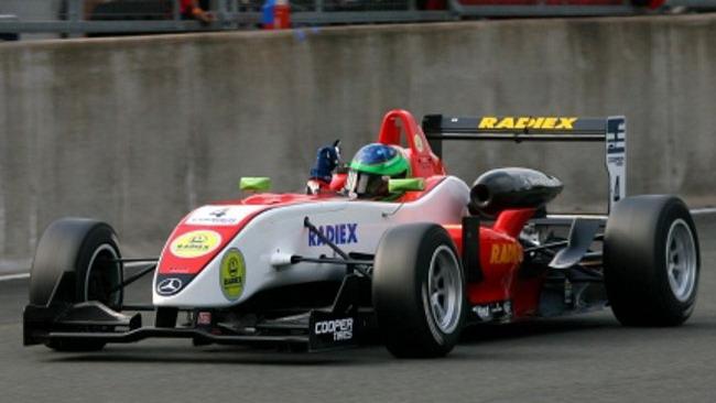 Lucas Foresti alla prima vittoria