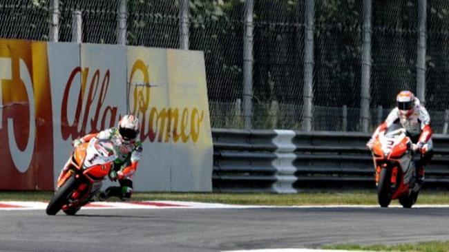 Dominio Aprilia nelle ultime libere di Monza