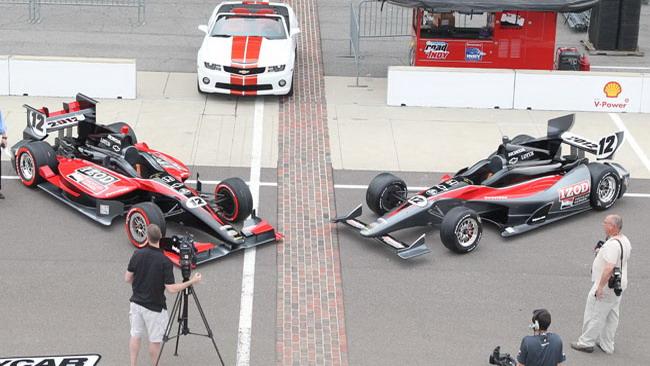 Dallara svela le monoposto 2012 per l'Indycar