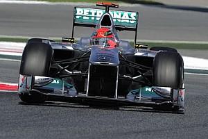 Formula 1 Ultime notizie Schumi non gira in Q3 per noie al KERS