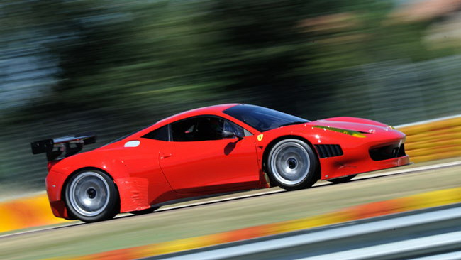 La Ferrari 458 Italia Grand Am in azione a Daytona