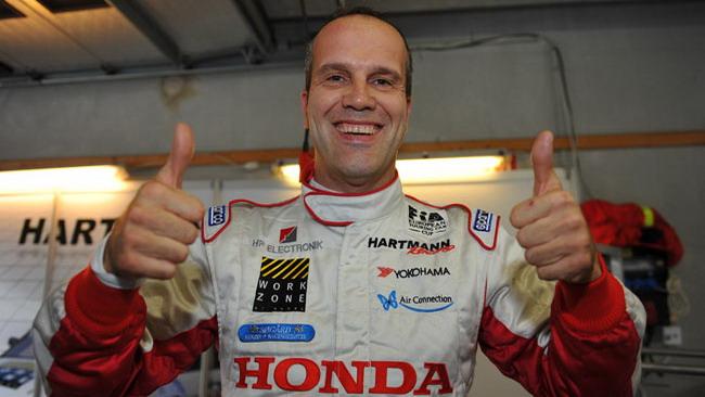 Giovanardi campione d'Europa con la Honda