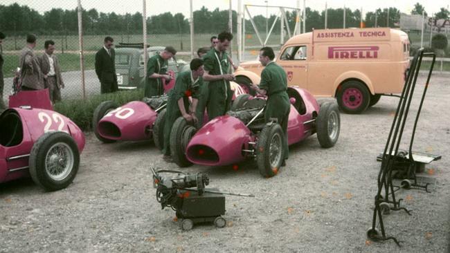 La Pirelli mette in Mostra la sua storia nelle corse