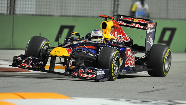 Singapore, Libere 2: Vettel mette tutti in fila