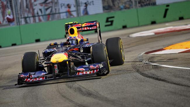 Singapore, Libere 3: Webber svetta su Button