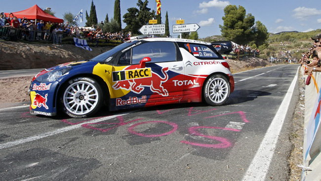 Loeb trionfa nel Rally di Spagna
