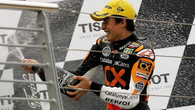 A Marquez e Vinales i Trofei Metraux 2011