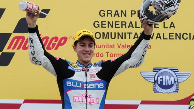 Vinales porta al debutto la FTR Moto3 ad Almeria