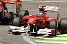 Alonso preferirebbe correre sul bagnato