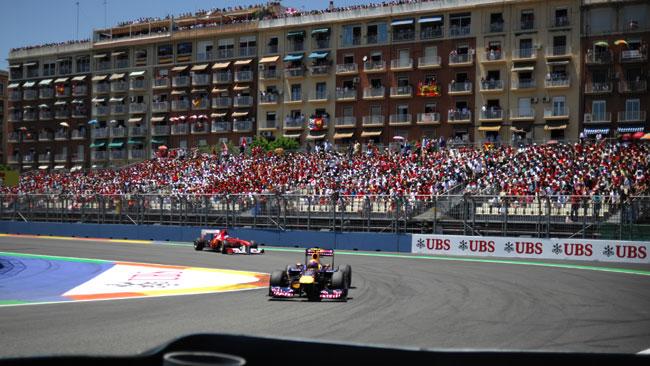 Valencia vuole ridiscutere il contratto con Ecclestone