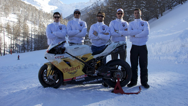 Il Liberty Racing si presenta sulle nevi del Sestriere