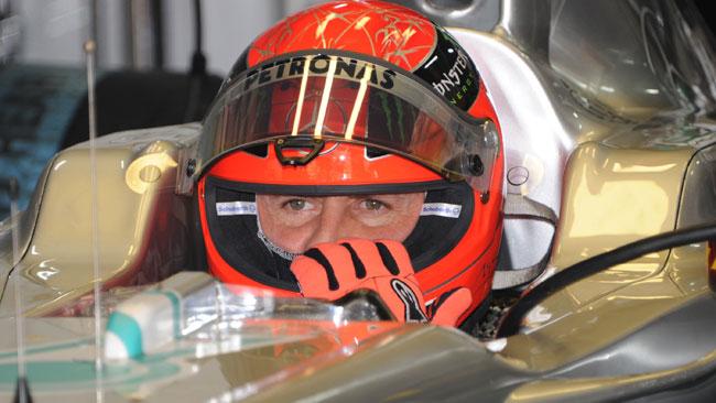 Jerez, Day 2, Ore 12: Schumi si porta al comando