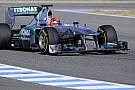 Jerez, Day 2: Schumi e la Mercedes 2011 in vetta