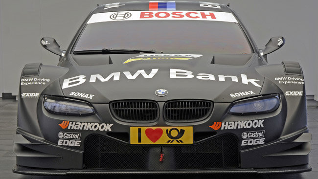 La BMW mostra i colori della M3 di Spengler