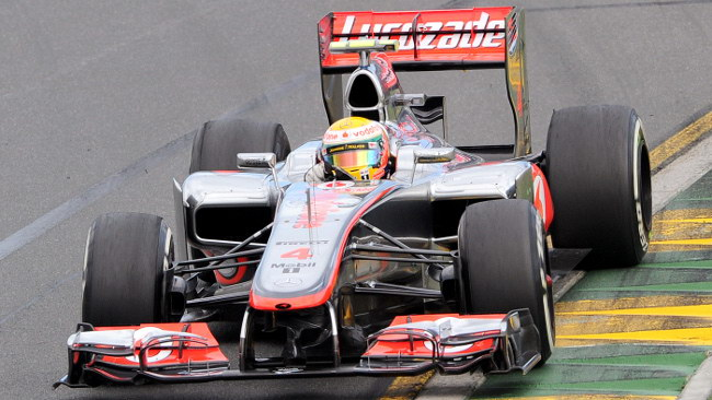 Melbourne, Qualifiche: Lewis Hamilton al top