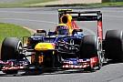 Webber senza KERS nella fase finale delle qualifiche