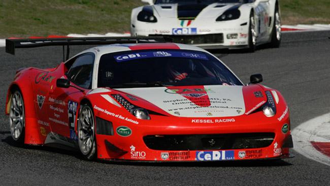 ECC: Kessel Racing a Monza con una Ferrari 458