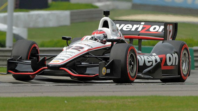 Will Power risale sul trono del Barber