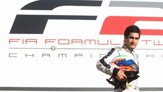 L'iraniano Kourosh Khani debutta in Formula 2