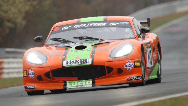 Il team Ginetta Italy sul vecchio Nürburgring