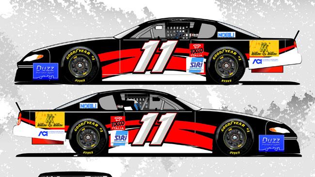 Amaduzzi pronto al debutto nella NASCAR Whelen