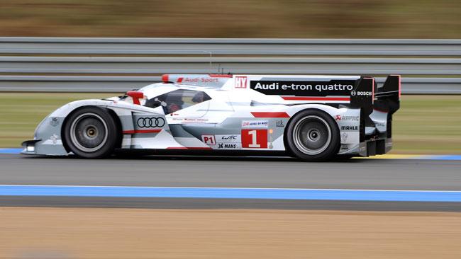 Partiti: subito tripletta Audi!