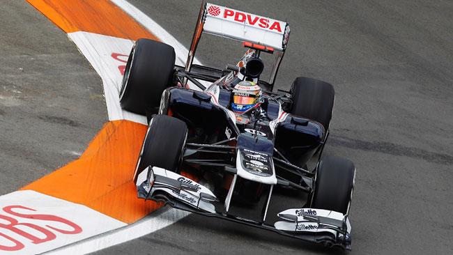 Valencia, Libere 1: Maldonado in vetta con la Williams
