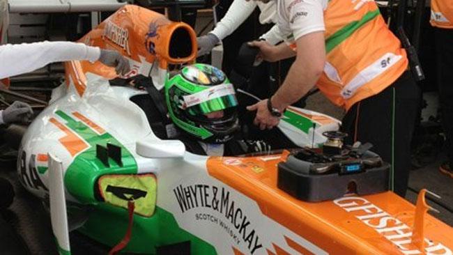 Salta il test aerodinamico della Force India