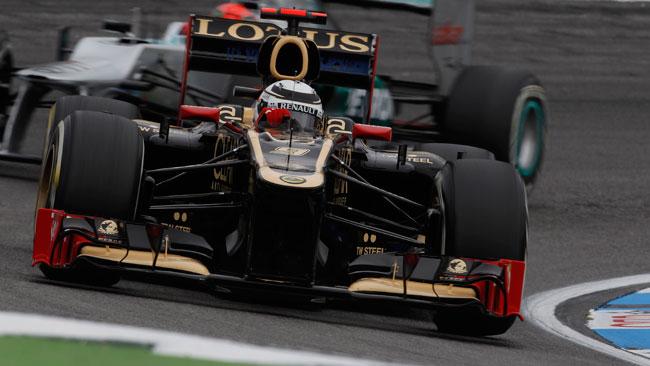 La Lotus non userà il Super DRS nel weekend