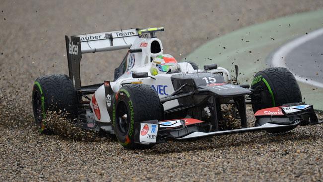 Perez penalizzato di cinque posizioni in griglia