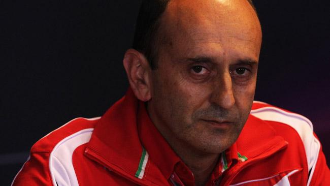 La Ferrari conferma di aver già portato il V6 al banco