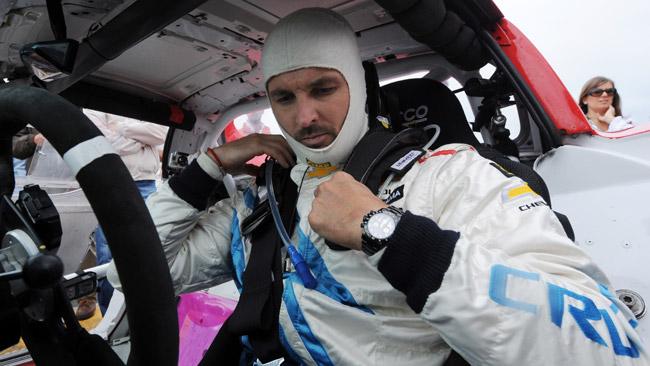 Yvan Muller al Rally di Francia con una Mini WRC