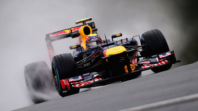 Webber perde cinque posizioni in griglia
