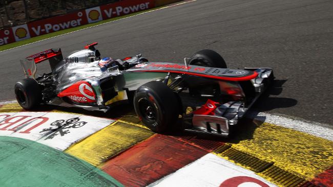 Jenson Button straordinario a Spa