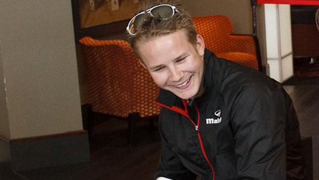 Danny Webb con Ambrogio Next Racing nel 2013