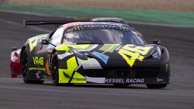 Valentino Rossi chiude 19esimo al Nurburgring