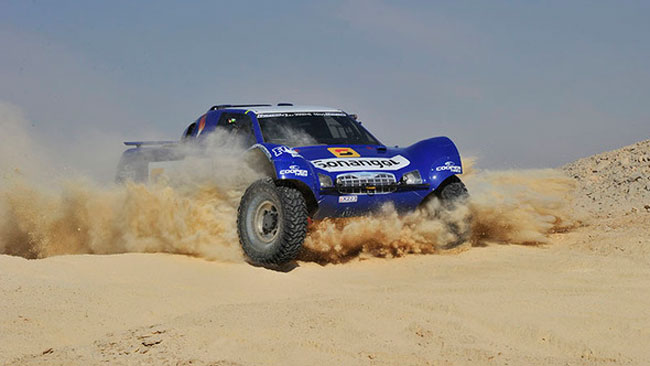 Pharaons Rally: tappa e leadership a Schlesser