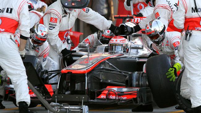 La McLaren non sostituisce il cambio a Button