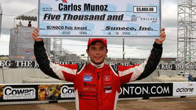 Munoz alla Indy 500 con Andretti Autosport nel 2013
