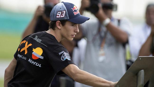 Honda: anche un test privato a Sepang per Marquez