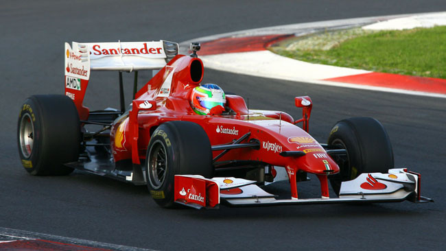 Agostini più veloce di Cheever nel test con la Ferrari