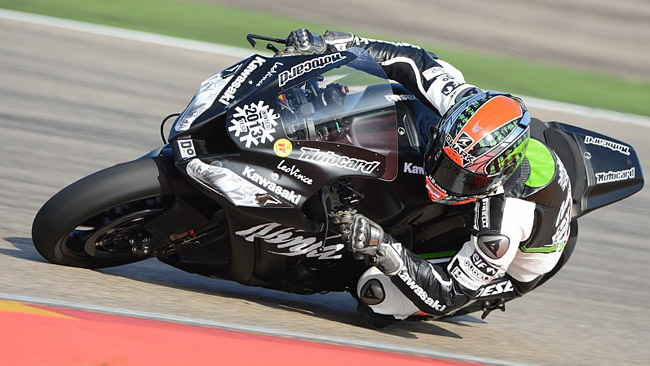 Jerez, Day 1: le Kawasaki volano, Guintoli sull'Aprilia