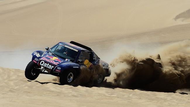 Dakar, 3° Tappa: vince Al-Attiyah, Peterhansel leader