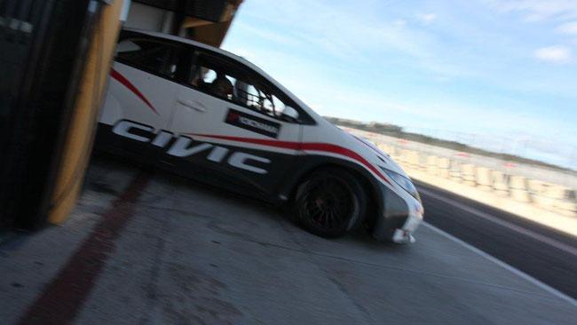 Promossi i nuovi pezzi della Honda Civic WTCC 2013