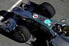 Rosberg soddisfatto dei primi giri con la W04