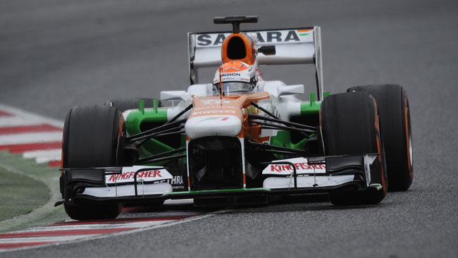 La Force India conferma l'ingaggio di Adrian Sutil