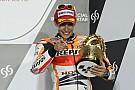 Marquez si gode il podio all'esordio in MotoGp