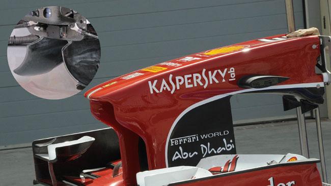 La Ferrari integra i deviatori di flusso al musetto